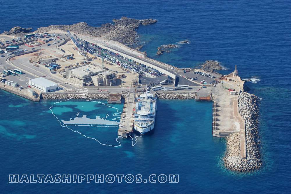 Cirkewwa Malta  City new picture : Cirkewwa Ferry Terminal 19.03.2012 Malta Ship Photos by Capt ...