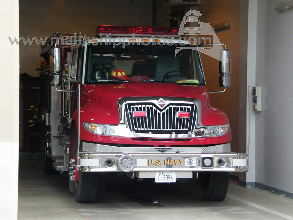 USN Engine 1 Pierce Commercial Cab - 30.09.2008