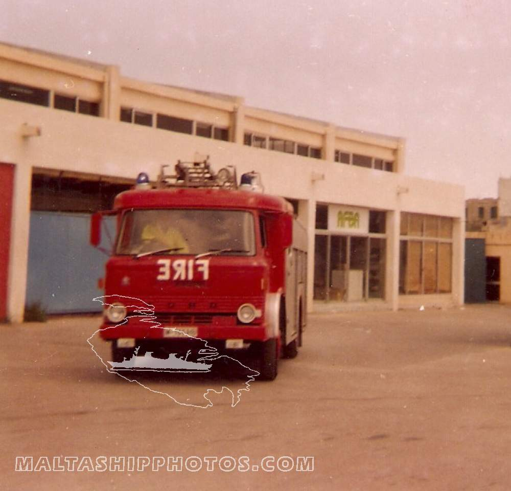 Malta Police Fire Brigade - M-1652 Ford Water Tender