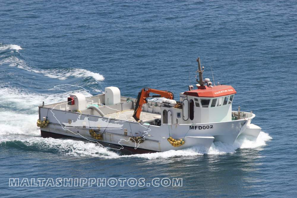 Mareblu Tuna Co Ltd, Malta - MFD 002 Yaizatun Dos - 25.08.2014