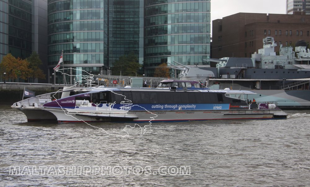 Thames Clippers, UK - Tornado Clipper - 26.10.2013